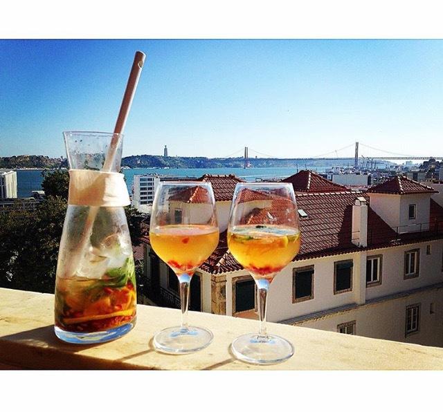 glass aperitiff til salat